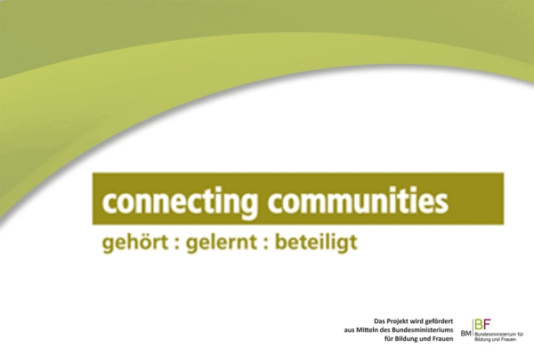 Connecting Communities Transferworkshop in Steyr