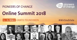 Pionners of change online Summit