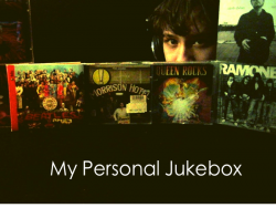 My Personal Jukebox